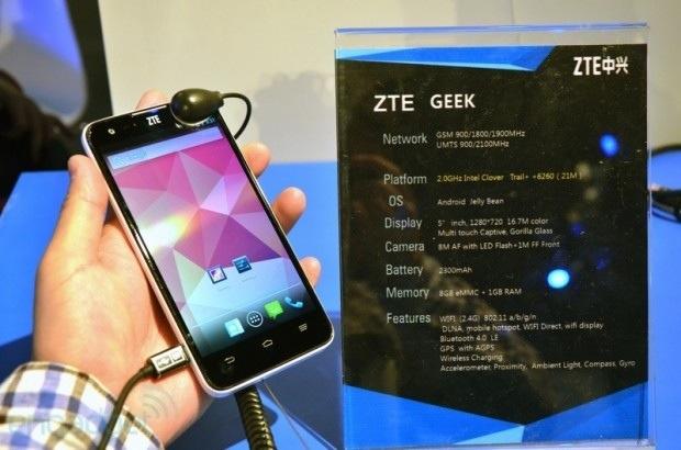 Photo of ZTE Geek: potencia con corazón Intel