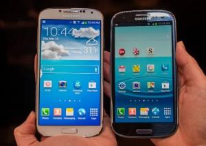 Los dos dispositivos de Samsung a prueba.