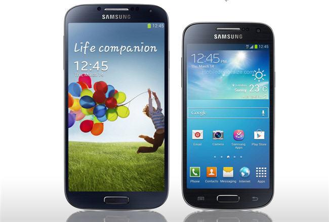 Samsung Galaxy S4 vs su versión mini