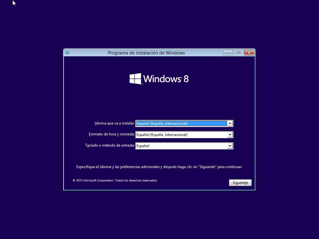 Instalar windows 8 1 en virtualbox paso a paso tutorial for 1 window