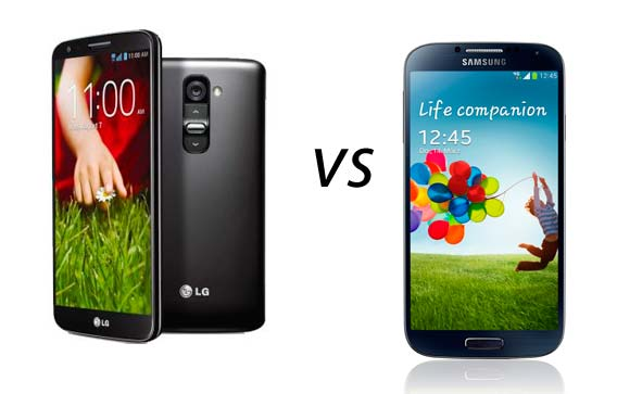 Photo of Comparativa: LG G2 vs Samsung Galaxy S4