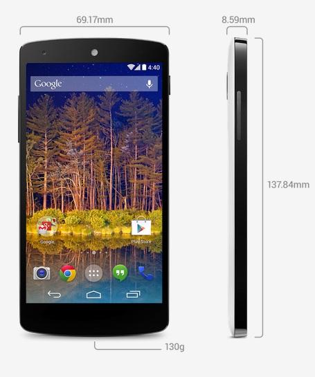 Photo of Nexus 5: características técnicas, disponibilidad y precio