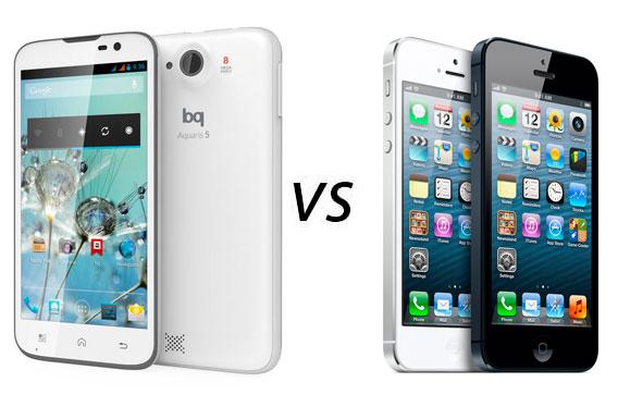 bq-aquaris5-vs-iphone5