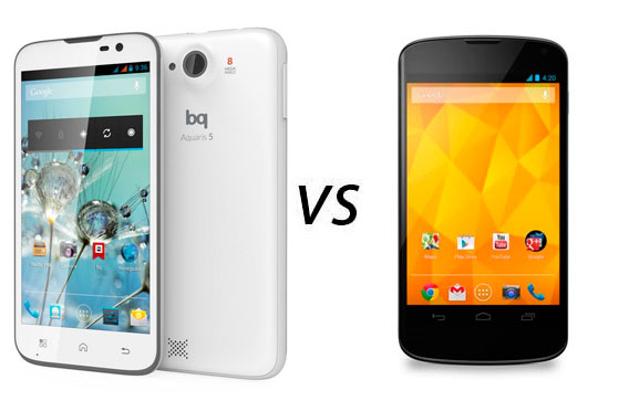 Photo of Comparativa: BQ Aquaris 5 vs Nexus 4