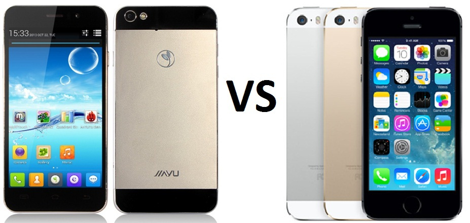 jiayu g5 vs iphone 5s