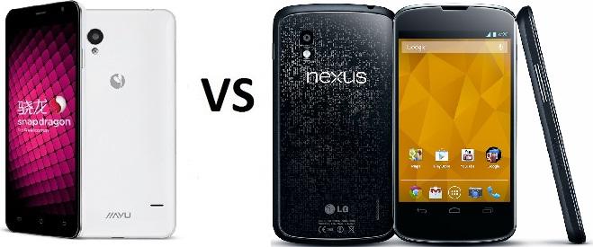 jiayu s1 vs nexus 4
