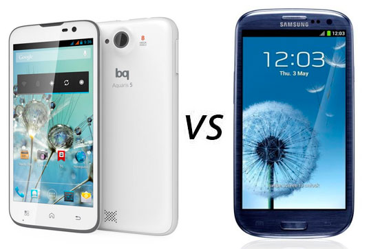 Photo of Comparativa: BQ Aquaris 5 vs Samsung Galaxy S3