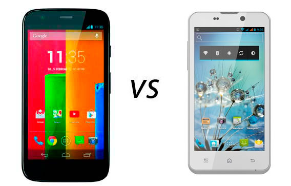 Photo of Comparativas: Motorola Moto G vs Bq Aquaris 4.5