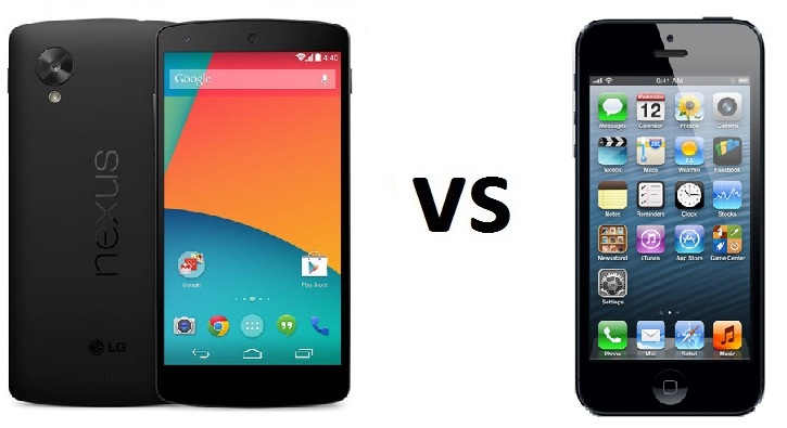 Photo of Comparativa: LG Nexus 5 vs Iphone 5