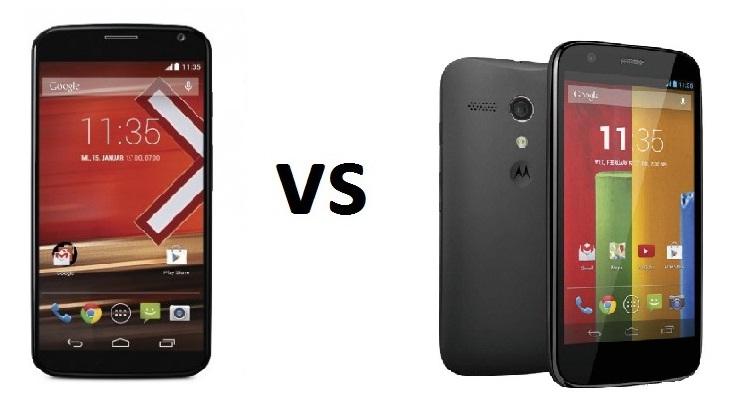 Photo of Comparativa: Motorola Moto X vs Motorola Moto G