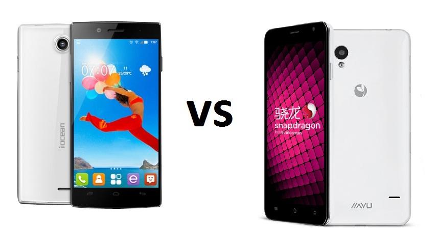 iOcean X7 HD vs Jiayu S1