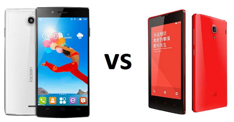 iOcean X7 HD vs Xiaomi Red Rice