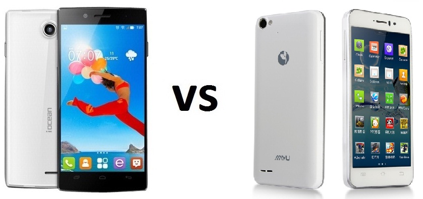 iOcean X7 HD vs jiayu g4