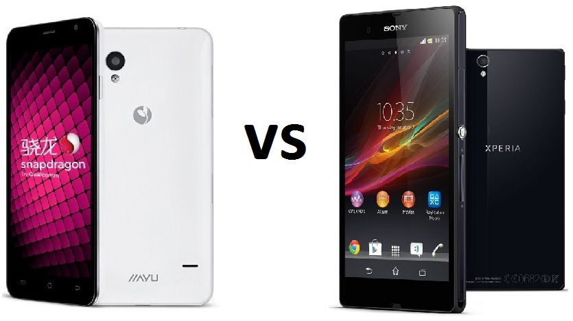 jiayu S1 vs Sony Xperia Z