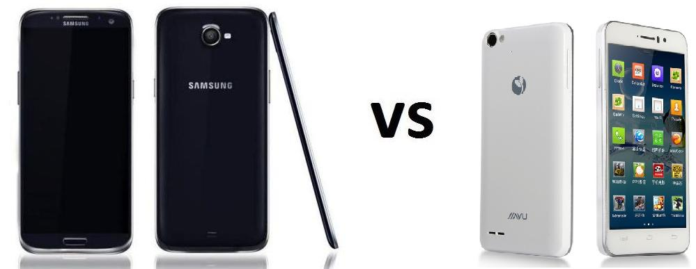 SAMSUNG GALAXY S5 VS JIAYU G4