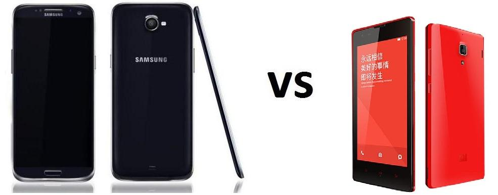SAMSUNG GALAXY S5 VS XIAOMI RED RICE