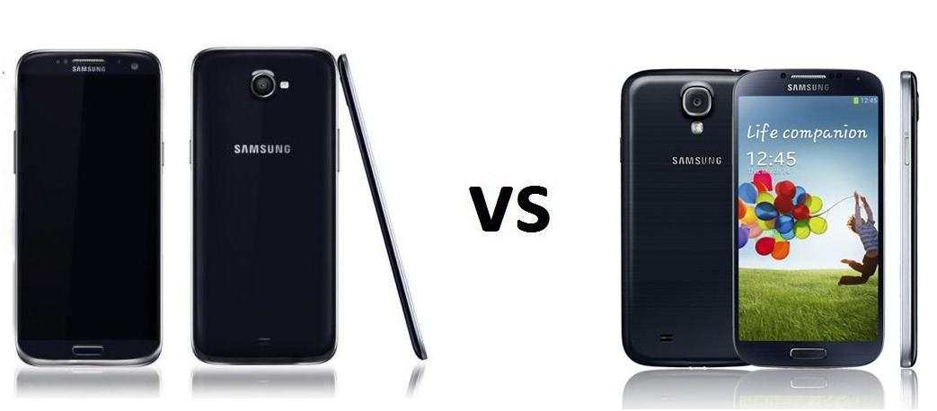 SAMSUNG GALAXY S5 vs SAMSUNG GALAXY S4