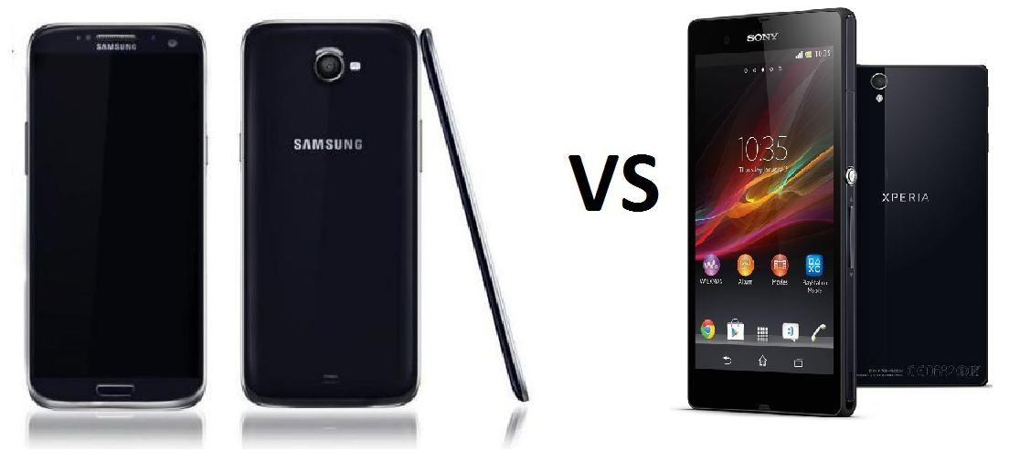 SAMSUNG GALAXY S5 vs SONY XPERIA Z