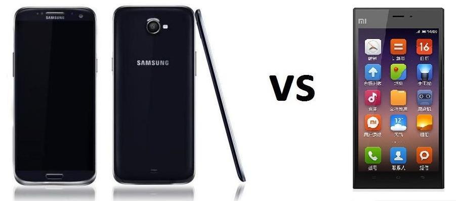Comparativa  Samsung Galaxy S5 vs Xiaomi Mi 3Xiaomi Mi3 Vs Samsung S5
