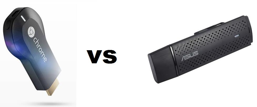 Chromecast vs Asus Miracast