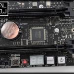 Panel de Control: Boton de encendido, bug led...