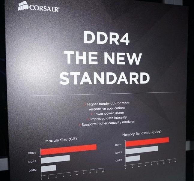 ¡Las primeras DDR4 de Corsair ya están aquí!