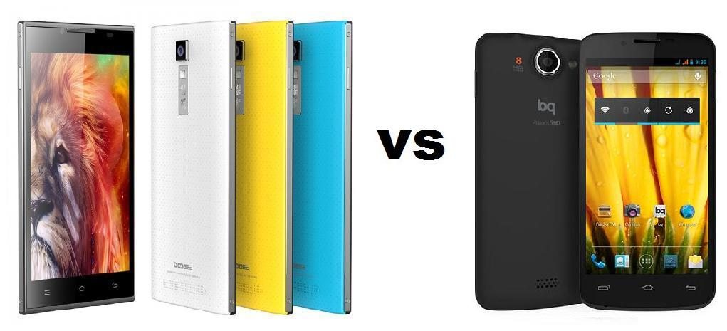 DOOGEE TURBO DG 2014 VS BQ AQUARIS 5 HD