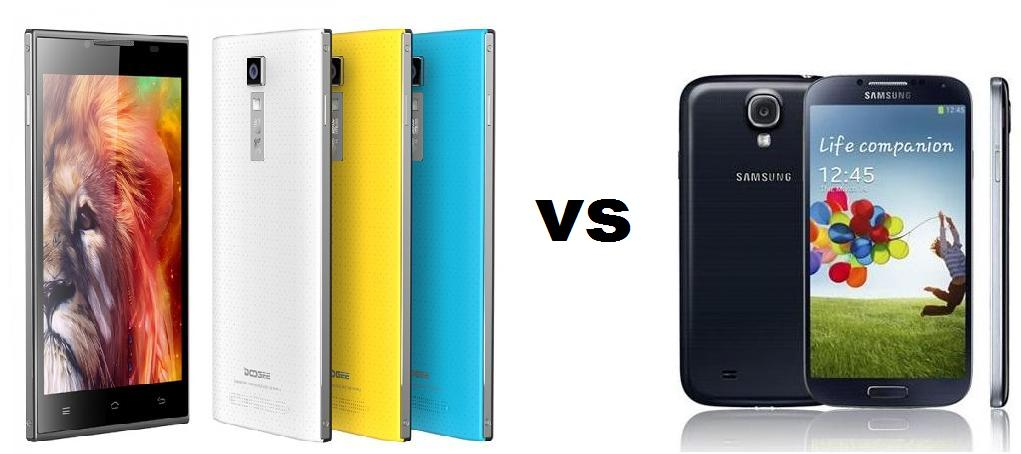 DOOGEE TURBO DG 2014 VS GALAXY S4