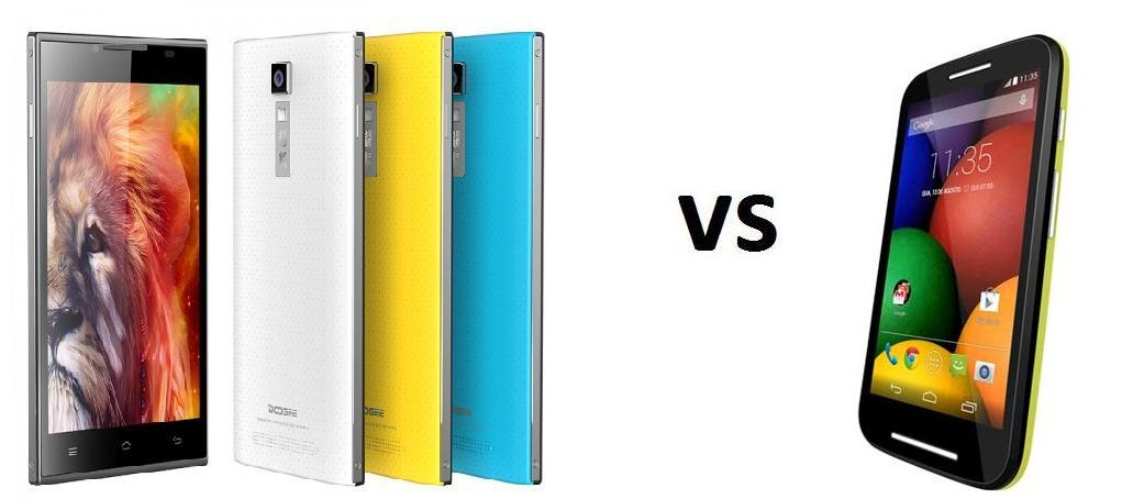 Photo of Comparativa: Doogee Turbo DG 2014 vs Motorola Moto E