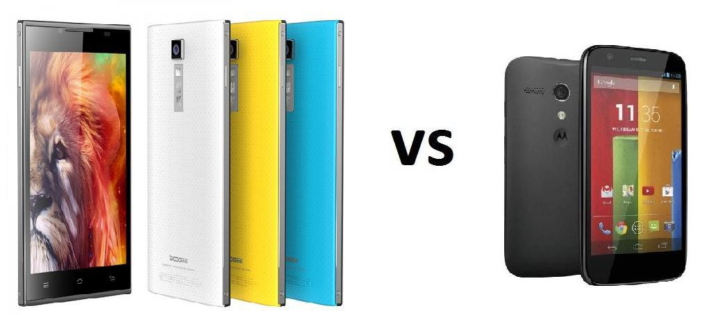 Photo of Comparativa: Doogee Turbo DG 2014 vs Motorola Moto G