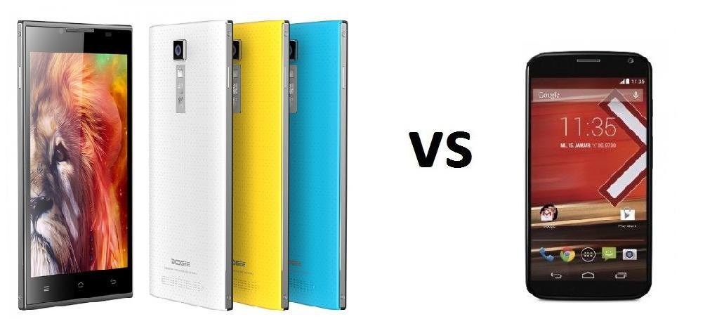 Photo of Comparativa: Doogee Turbo DG 2014 vs Motorola Moto X