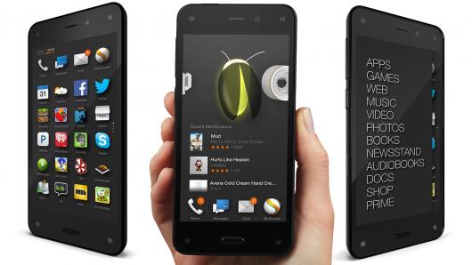 Photo of Amazon Fire Phone. La nueva apuesta de Amazon.