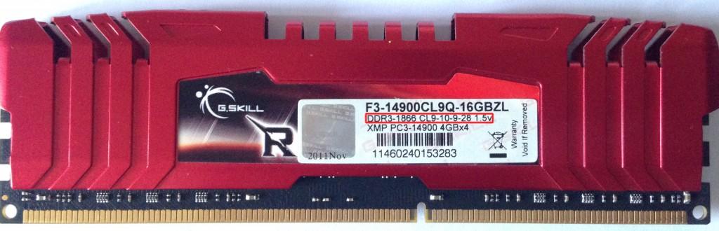 latencias RAM