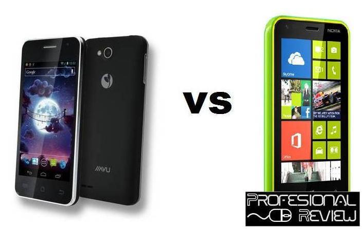 Comparativa: Jiayu F1 vs Nokia Lumia 625