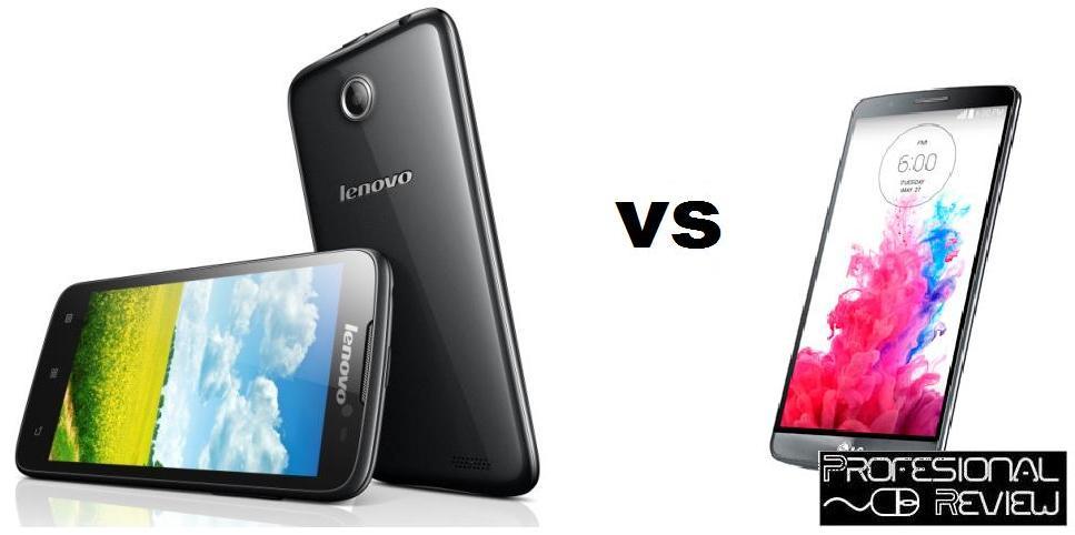 LENOVO A850 VS LG G3