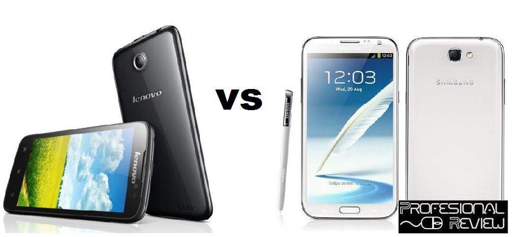Photo of Comparativa: Lenovo A850 vs Samsung Galaxy Note 2