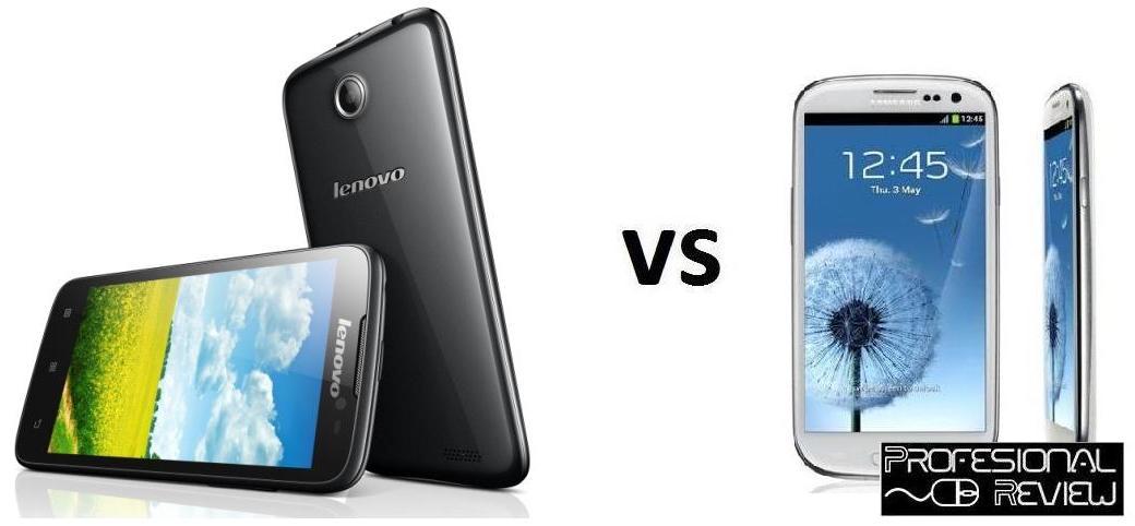 LENOVO A850 VS SAMSUNG GALAXY S3