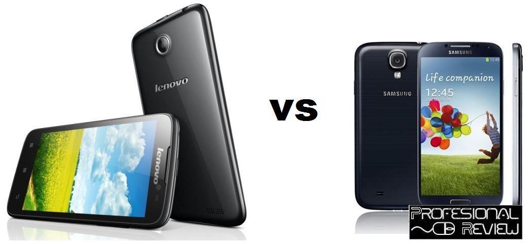 LENOVO A850 VS SAMSUNG GALAXY S4