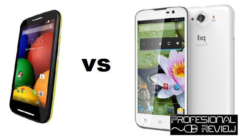 Photo of Comparativa: Motorola Moto E vs BQ Aquaris 5