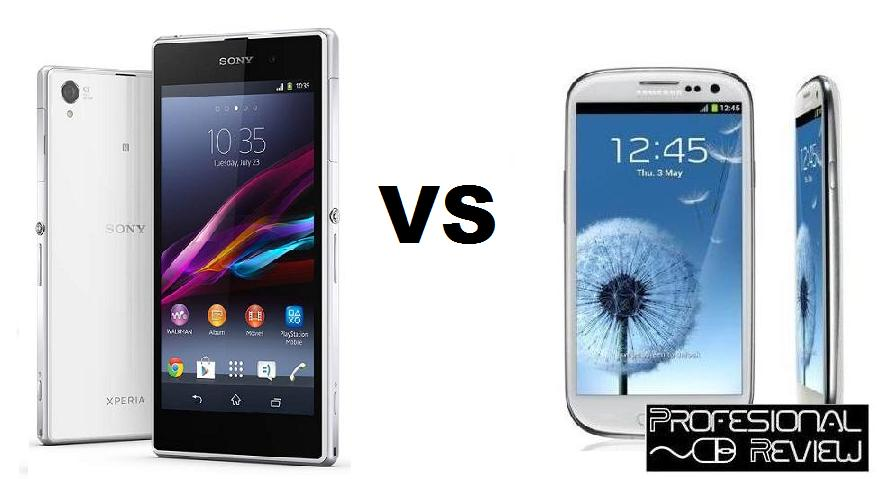 SONY XPERIA Z1 VS SAMSUNG GALAXY S3