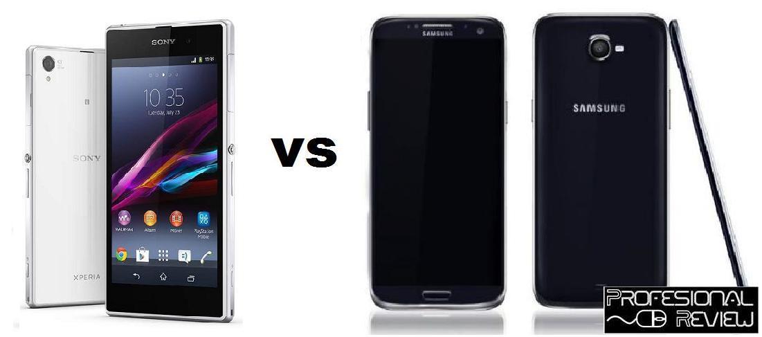 The gallery for --> Sony Xperia Z Vs Samsung Galaxy S5