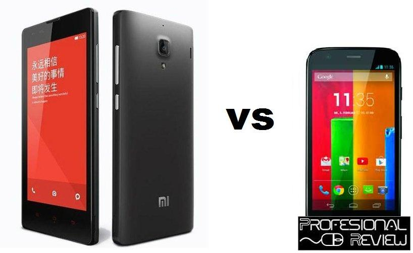 XIAOMI RED RICE 1S VS MOTOROLA MOTO G