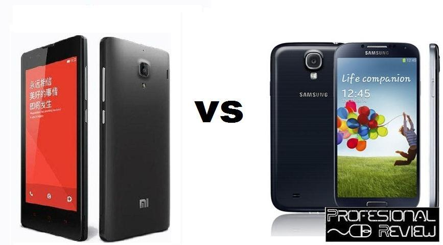 XIAOMI RED RICE 1S VS SAMSUNG GALAXY S4