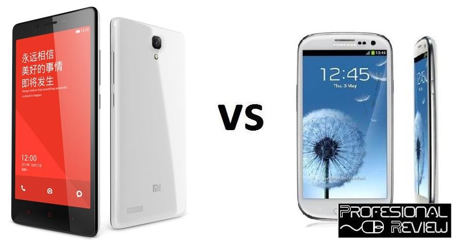 XIAOMI REDMI NOTE VS SAMSUNG GALAXY S3