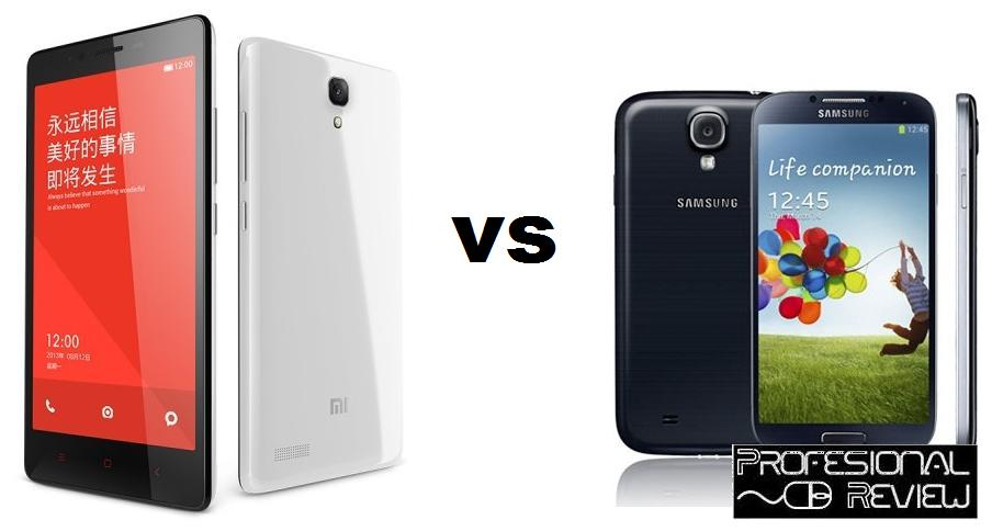 XIAOMI REDMI NOTE VS SAMSUNG GALAXY S4