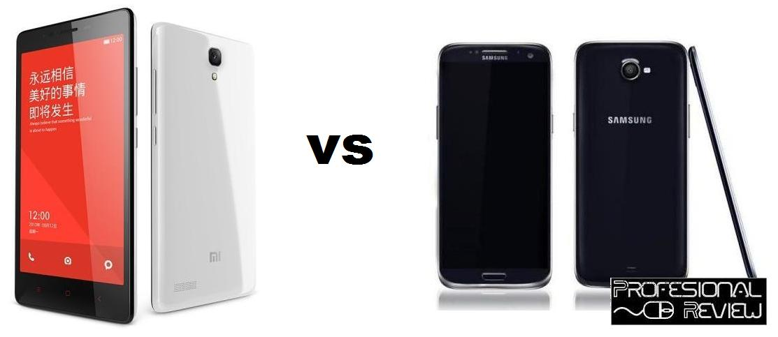 XIAOMI REDMI NOTE VS SAMSUNG GALAXY S5