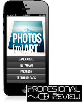 APP PHOTOS TO ART