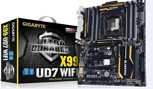 Gigabyte nos presenta su nueva placa base X99 UD7 WIFI para los más jugones
