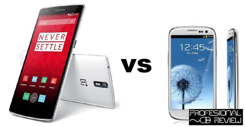 ONE PLUS ONE VS GALAXY S3