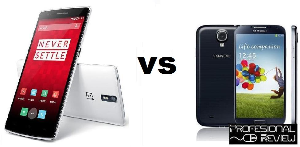 ONE PLUS ONE VS GALAXY S4